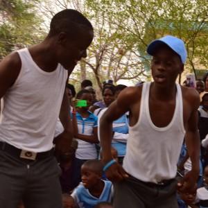 Dancers performing Kwasakwasa dancing